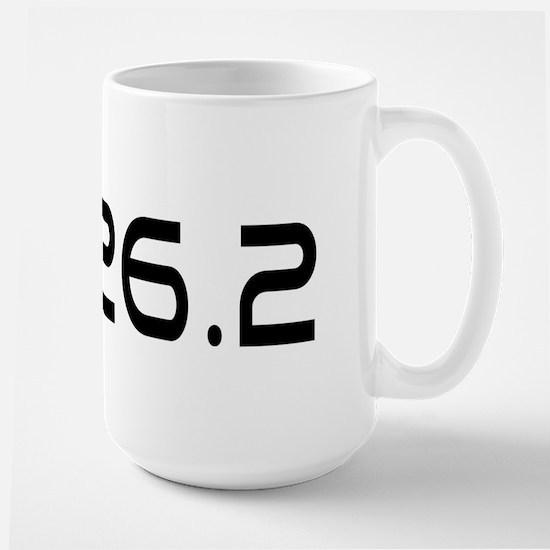 I Run Because Large Mug