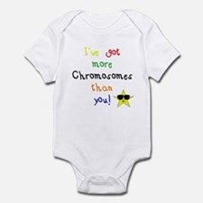 More Chromosomes Infant Bodysuit