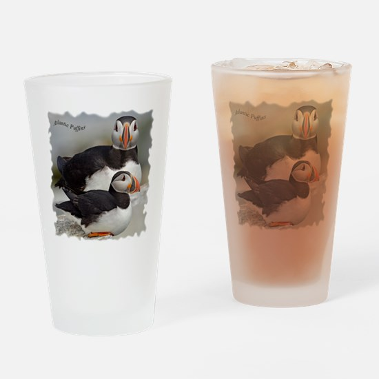 Puffin Tee Drinking Glass