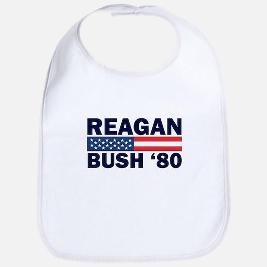 Reagan - Bush 80 Bib