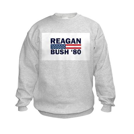 Reagan - Bush 80 Kids Sweatshirt
