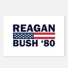 Reagan - Bush 80 Postcards (Package of 8)