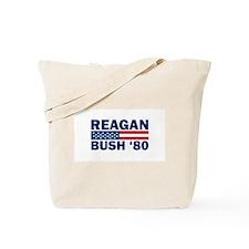 Reagan - Bush 80 Tote Bag