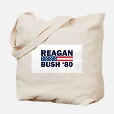 Reagan - Bush 80 Tote Bag