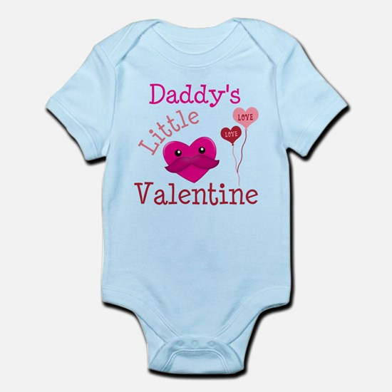 Daddy's Little Valentine Infant Bodysuit