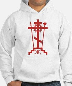 Orthodox Schema Cross Hoodie Sweatshirt