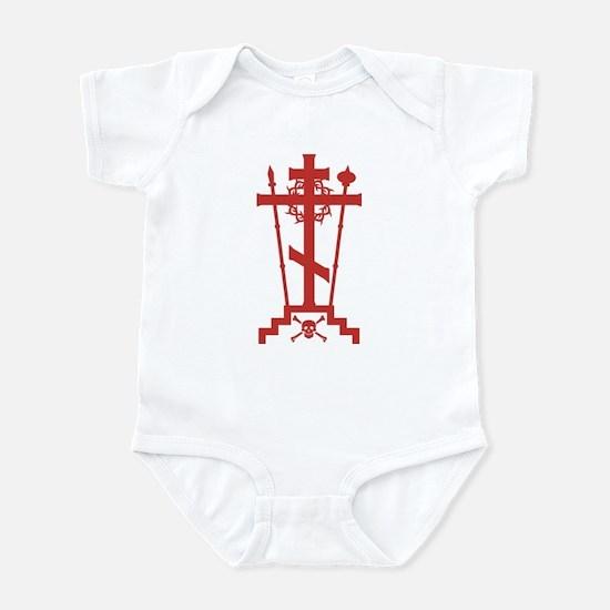 Orthodox Schema Cross Infant Bodysuit