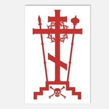 Orthodox Schema Cross Postcards (Package of 8)