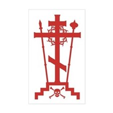Orthodox Schema Cross Rectangle Decal