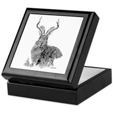 Jackalope Keepsake Box