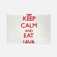 Keep calm and eat Java Magnets