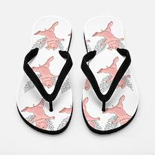 Flying Pig Flip Flops
