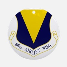 86th AW Round Ornament