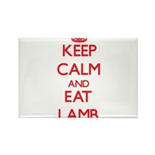 Keep calm and eat Lamb Magnets