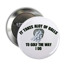 Golf - Alot of Balls Button