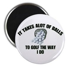Golf - Alot of Balls Magnet