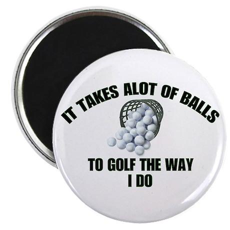 Golf - Alot of Balls Magnet