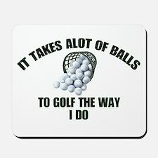 Golf - Alot of Balls Mousepad