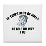 Golf Drink Coasters
