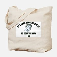Golf - Alot of Balls Tote Bag