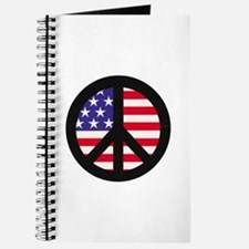 Peace Sign - Flag Journal