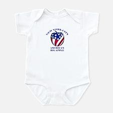 America's Big Apple Infant Bodysuit