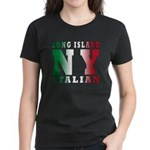 Long Island Italian Women's Dark T-Shirt