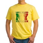 Long Island Italian Yellow T-Shirt