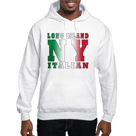 Long Island Italian Hooded Sweatshirt