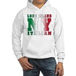 Long Island Italian Hooded Sweatshirt