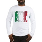 Long Island Italian Long Sleeve T-Shirt