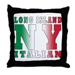 Long Island Italian Throw Pillow