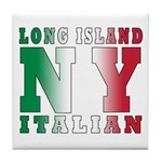Long Island Italian Tile Coaster