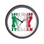 Long Island Italian Wall Clock