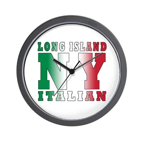 Long Island Italian Wall Clock