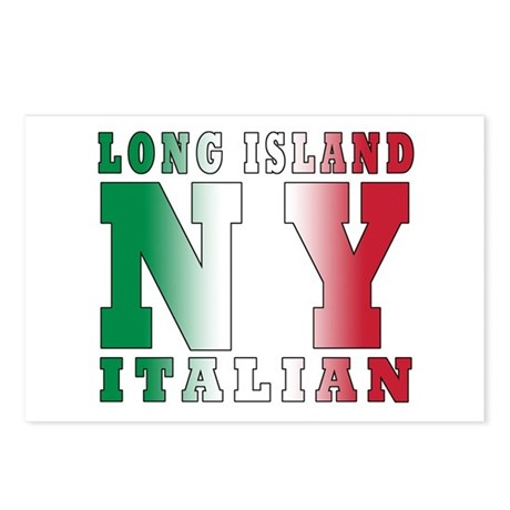 Long Island Italian Postcards (Package of 8)