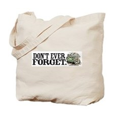 Don't Forget Dinosaurs Tote Bag