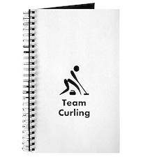 Team Curling Black Journal