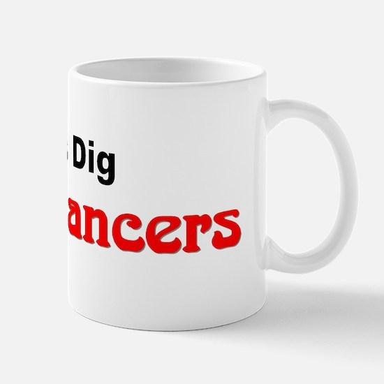 """Chicks Dig Swing Dancers"" Mug"