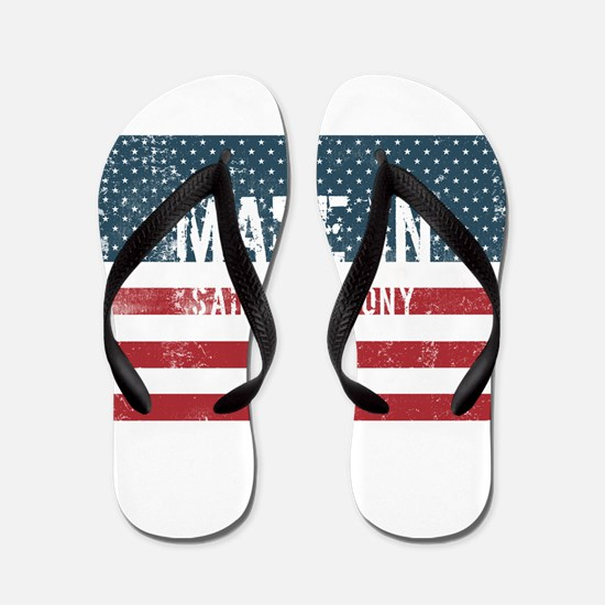 Made in Saint Anthony, Idaho Flip Flops