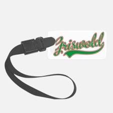 Griswold Jersey Green Luggage Tag