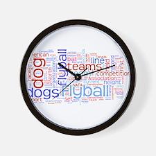 Flyball Wall Clock