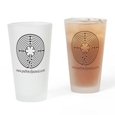 Paths of Peace Chartres Essence Drinking Glass