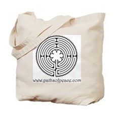 Paths of Peace Chartres Essence Tote Bag