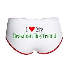 I Love My Brazilian Boyfriend Women's Boy Brief