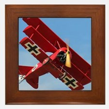 The Red Baron Flies 1 Framed Tile