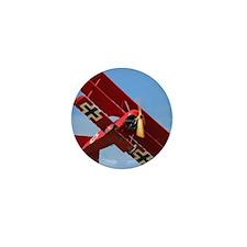The Red Baron Flies 1 Mini Button