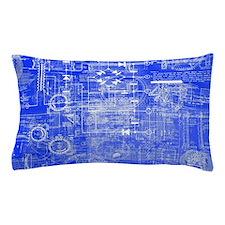 Blueprints Pillow Case