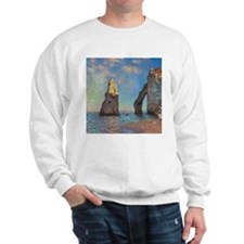 Etretat Cliffs by Monet Sweatshirt