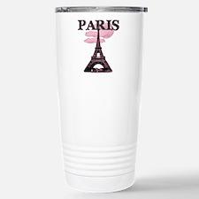 Eiffel Tower-PARIS-PINK Travel Mug